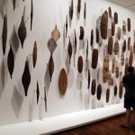 Historic Australian Art forms at one of NGV gallery