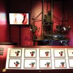 Detailed Animation Making display at ACMI