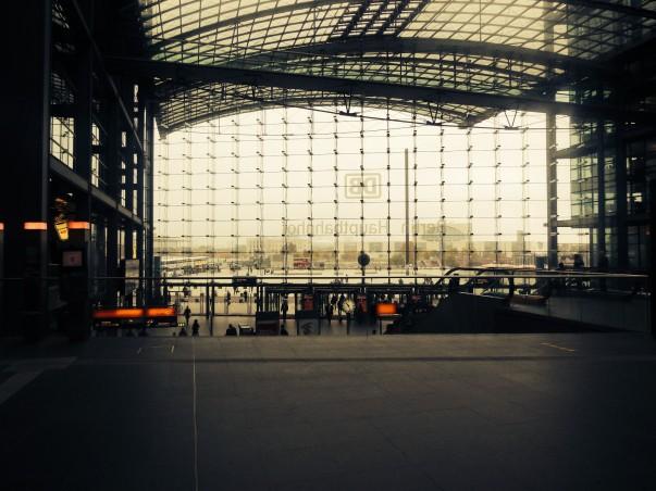 Berlin Hauptbahnhof View