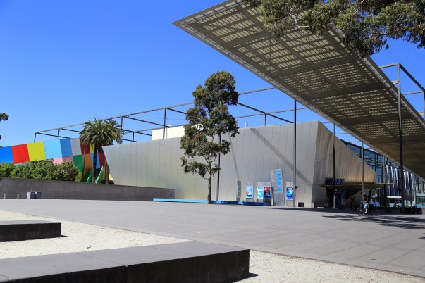 Melbourne Museum with its architecturally unique complex
