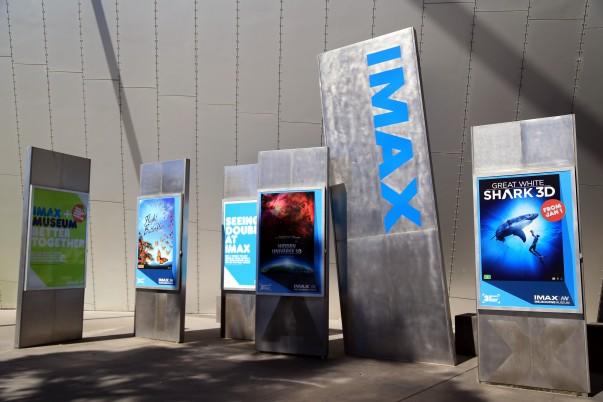 The IMAX theatre