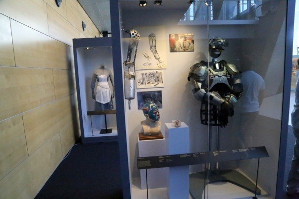 Costumes display from Bond film
