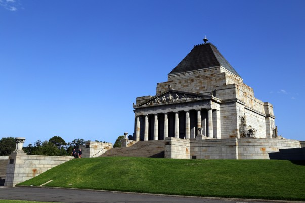 Shrine of Remembrance - Melbourne's War Memorial