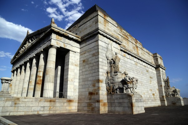 Shrine of Remembrance beautifully carved facade