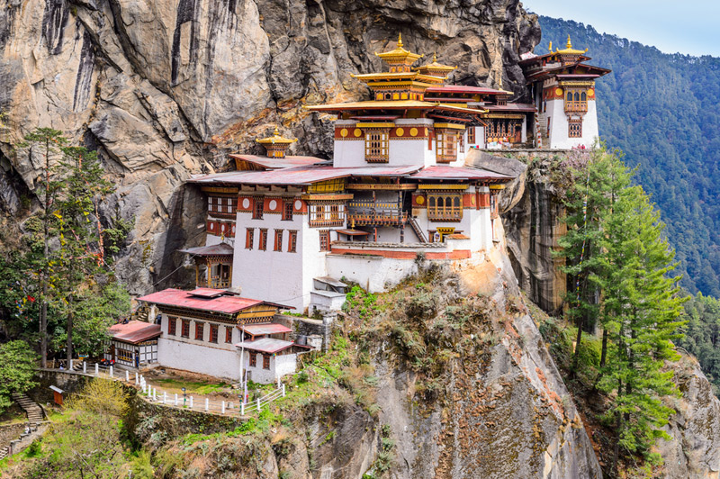 One of the Difficult Monasteries to Access