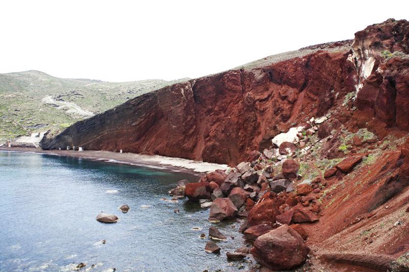 Red-Beach, Santorini, Greece