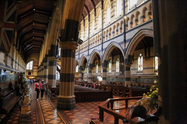 Interiors of St Pauls' Cathedral