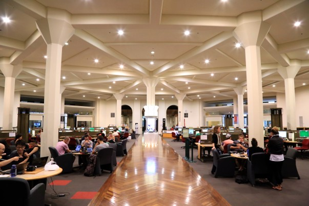 Library reading rooms