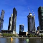 City Skyline as seen from Yarra Riverside
