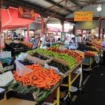 Fruit and Vegetable stalls at Queen Victoria