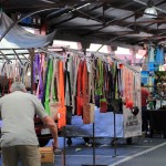 Queen Victoria Market Stalls selling various types of goods