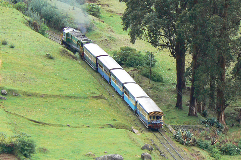Mettupalayam-to-Udhagamandalam (Nilgiri Mountain Railway)