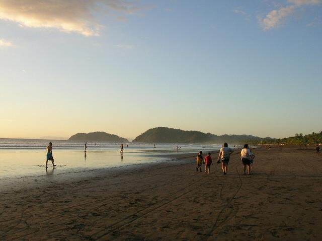 Jaco Beach at Costa Rica
