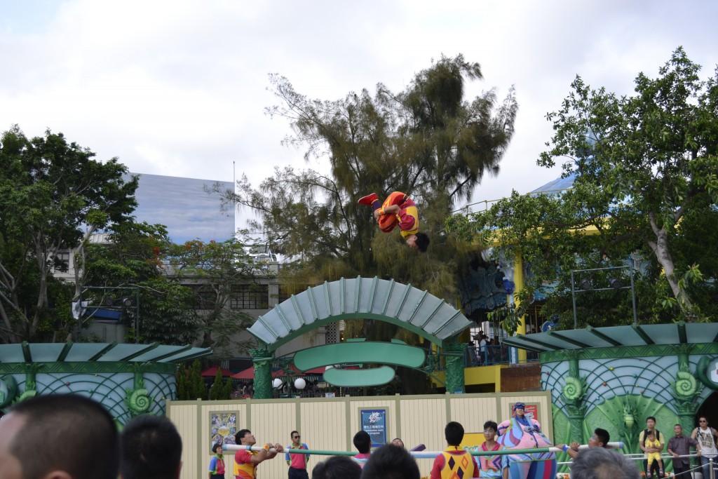 Best Part of Ocean Park Hong Kong is Acrobatics