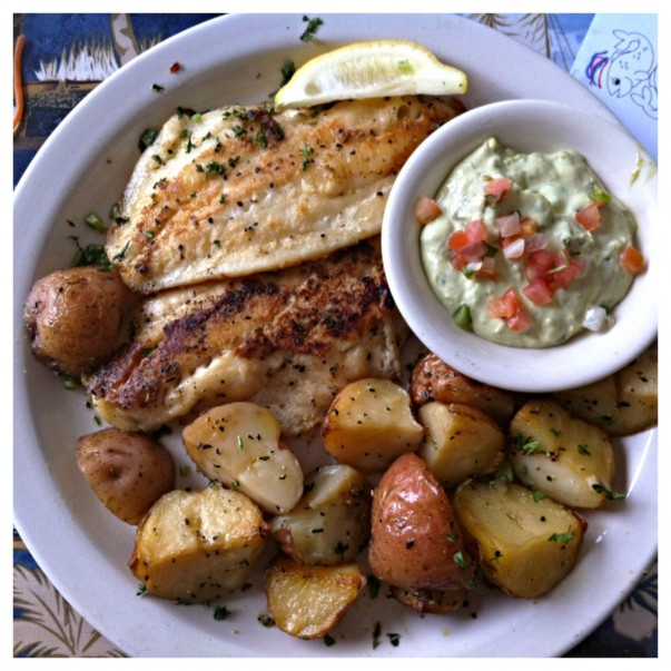 Seafood at Corpus Christi, Texas