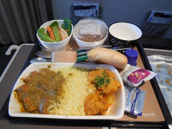 Cathay Pacific Meals are Good