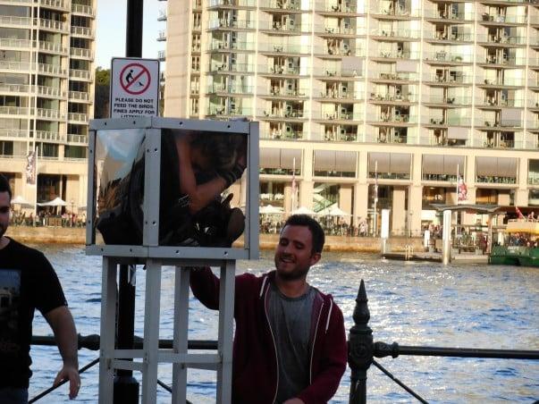 Street Performer at Circular Quay