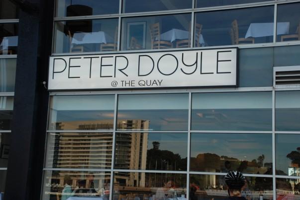 Peter Doyle at Circular Quay