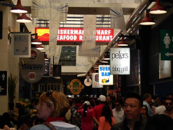 Sydney Fish Market - Crowds & More Crowds