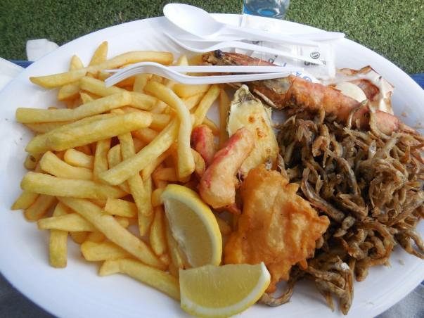 Sydney Fish Market - Options to eat
