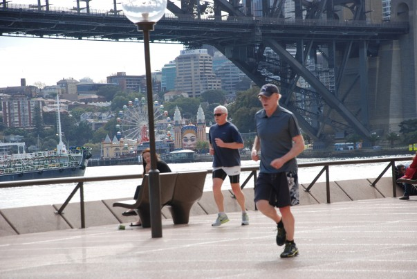 Circular Quay - The Jogging Track