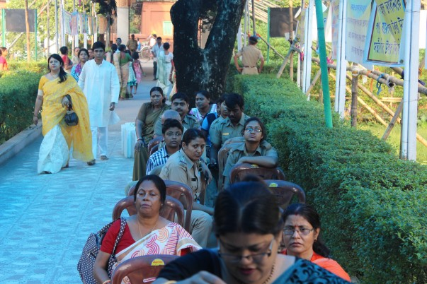 Durga Puja at the mission