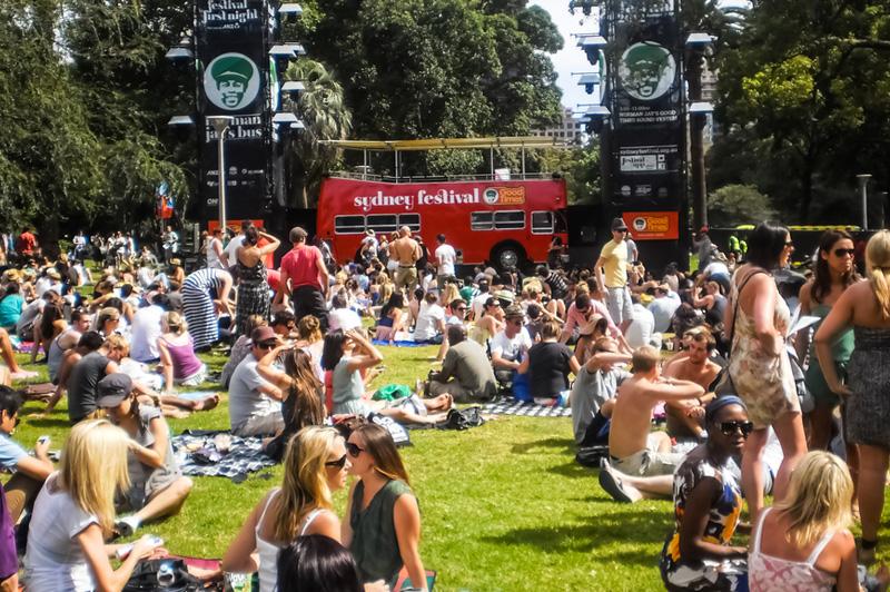 Sydney Festival hyde park