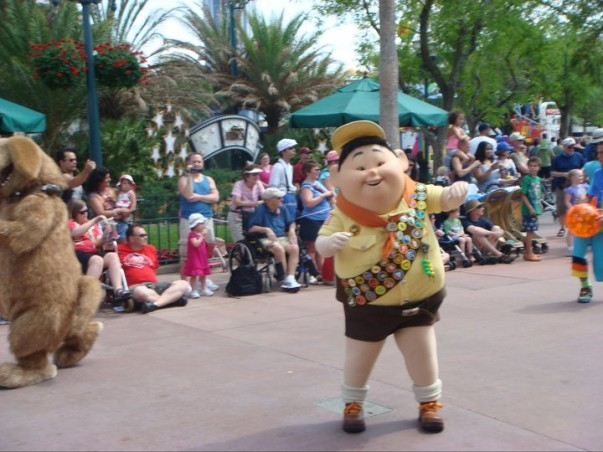 Remember this cute character from the movie 'Up'