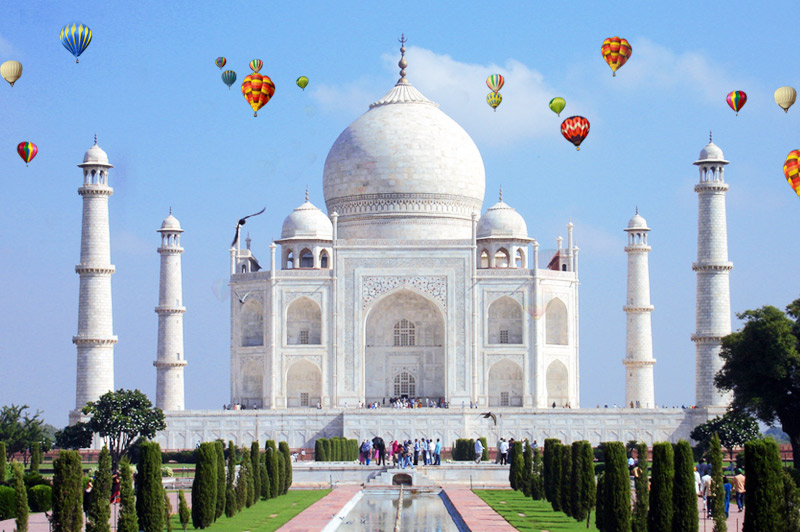 Interesting Facts about the Taj Balloon Festival