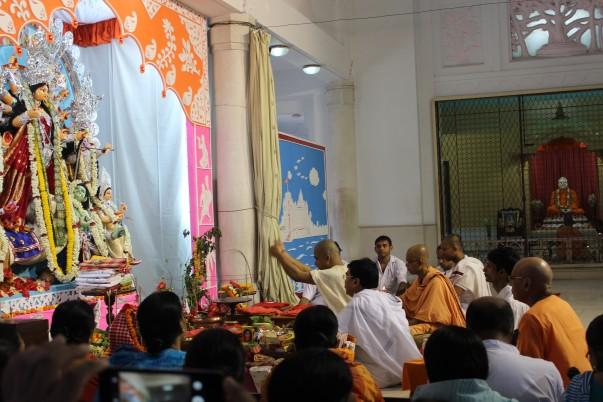 Ceremonies for Durga Puja