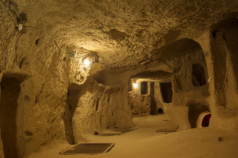 Underground city in Cappadocia