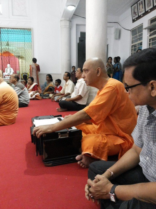 Monk at the RK Mission