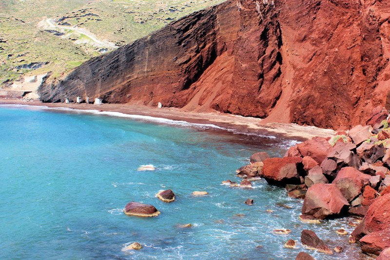 Top 6 Colorful Beaches in the World You May Not Know