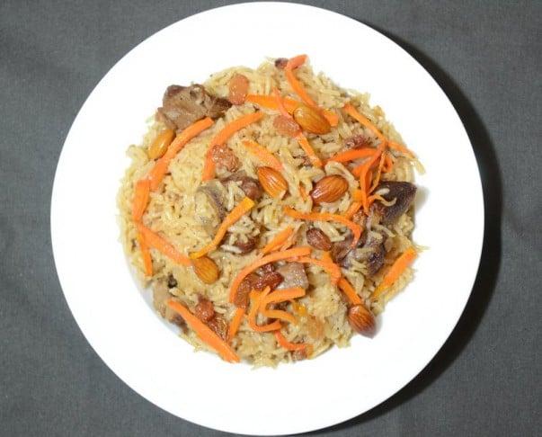 Kabuli Pulao Afghani - Servido