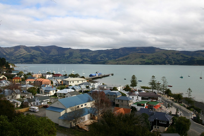Akaroa is one of the best places to welcome New Year