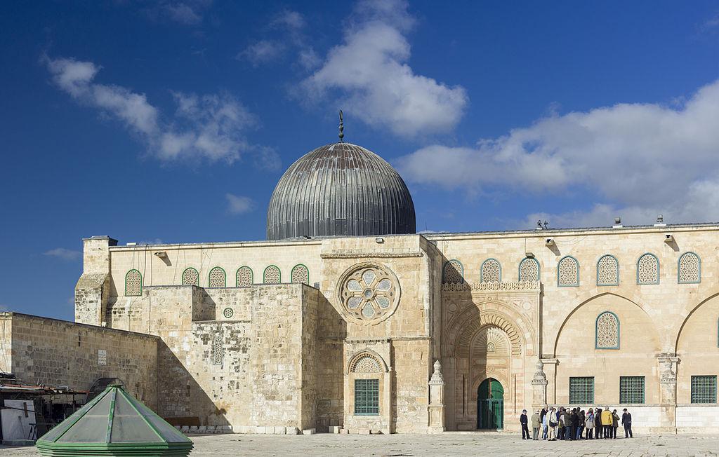 Al Aqsa Mosque at Jerusalem