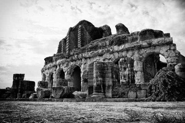 Ancient Capua Amphitheatre