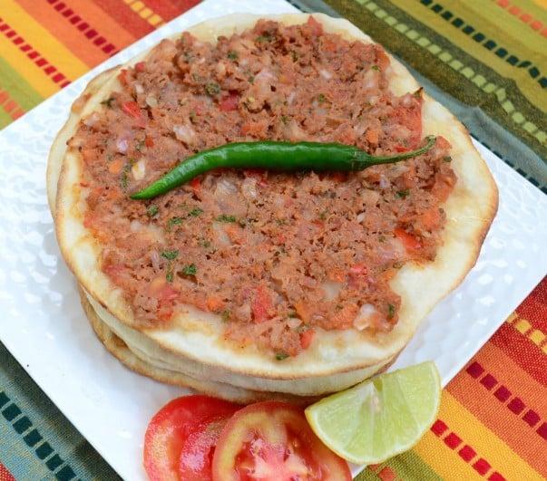Armenian Lahmajun Recipe (Armenian Pizza)