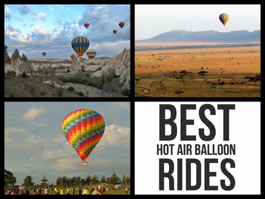 Top 5 Hot Air Balloon Rides Around The World