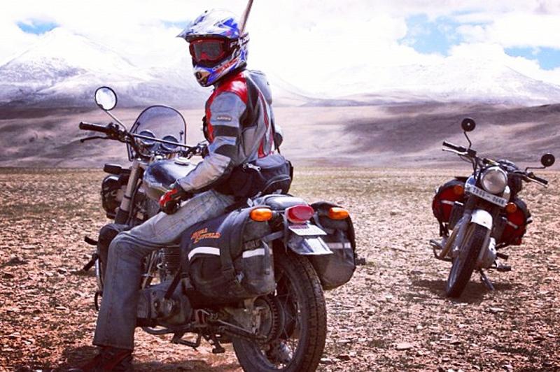 Biking Through Ladakh