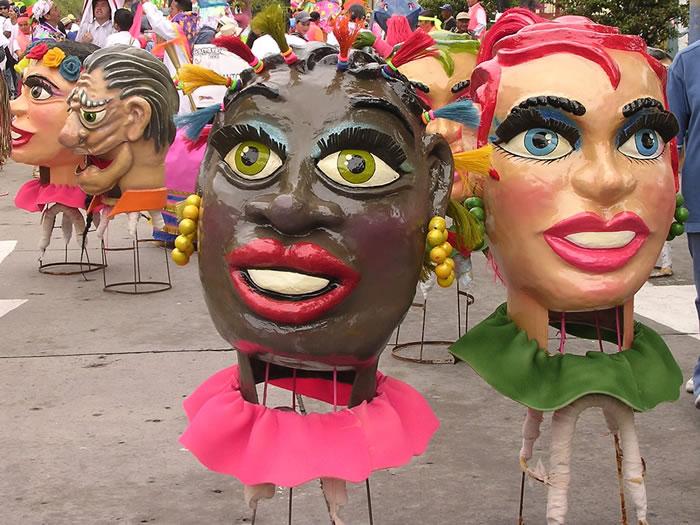 Blacks and Whites Pasto Carnival