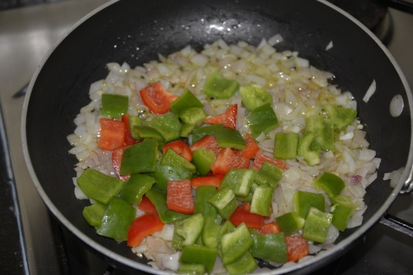 Brazilian Fish Stew - With Green & Red Bell Pepper