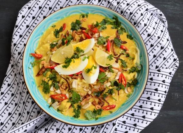 La recette de Khow Suey Birman