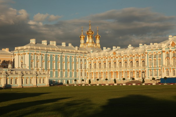 Catherine's Palace in Russia