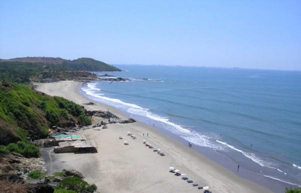 Chapora Beach in Goa