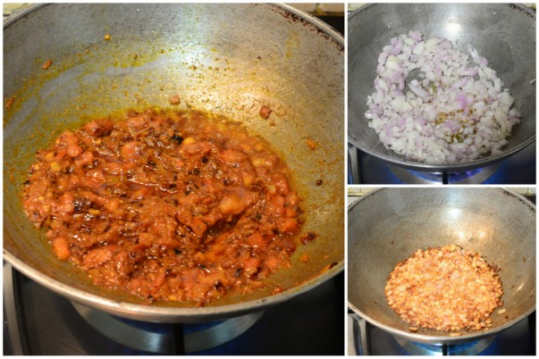 Chicken Curry - Frying the Masala