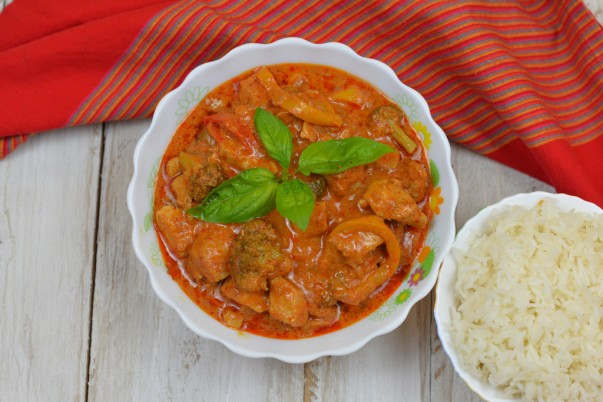 Chicken In Red Thai Curry