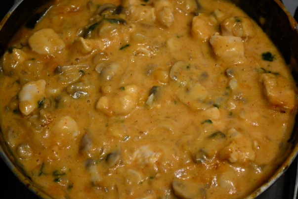 Chicken Stroganoff - Fully Cooked