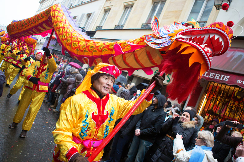 Chinese New Year Celebrations in France