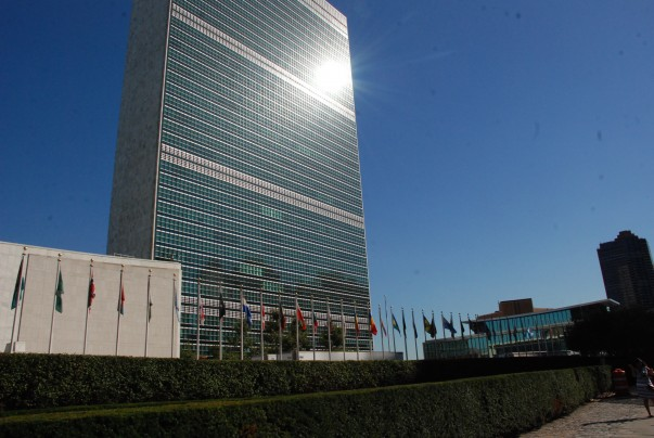 United Nations Headquarters - From slaughterhouse to attempting peace